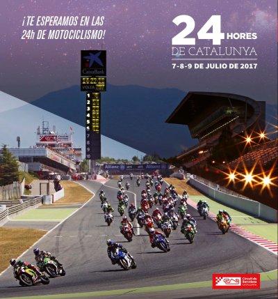 24 horas circuit catalunya 2017 poster